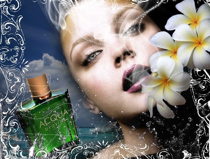 Design a Stunning French Perfume Advert Poster - photoshop tutorial Lorelei Web Design