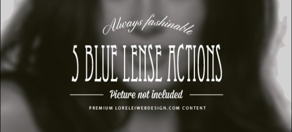 """Download 50 New Creative HDR Actions """"Come Alive"""" - Features Lorelei Web Design"""