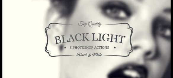 "Download 8 ""Black Light"" Photoshop Actions That Will Change Your Perspective - Premium Downloads Lorelei Web Design"