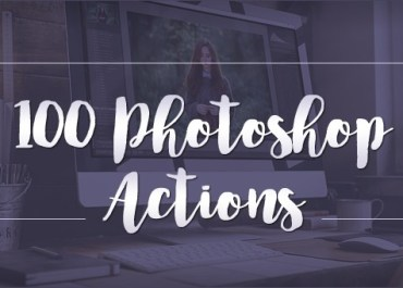 """Bring Mobile Pics to Life"" with 100 Photoshop Actions - 95% OFF! - Features Lorelei Web Design"
