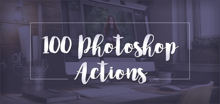"""Bring Mobile Pics to Life"" with 100 Photoshop Actions - 95% OFF! - Photoshop Actions Lorelei Web Design"