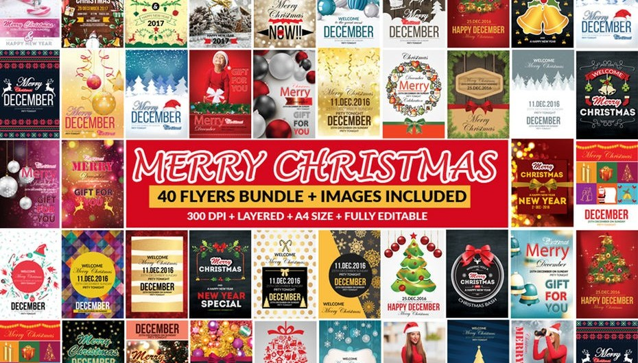 Bundle of 66 Christmas Templates - only $29 - Blog Lorelei Web Design