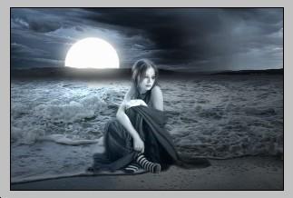 Dark Fantasy Art Photoshop tutorial – Fairy and Sunset Landscap - Photoshop Tutorials Lorelei Web Design