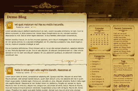 Infocreek in 100 Excellent Free WordPress Themes