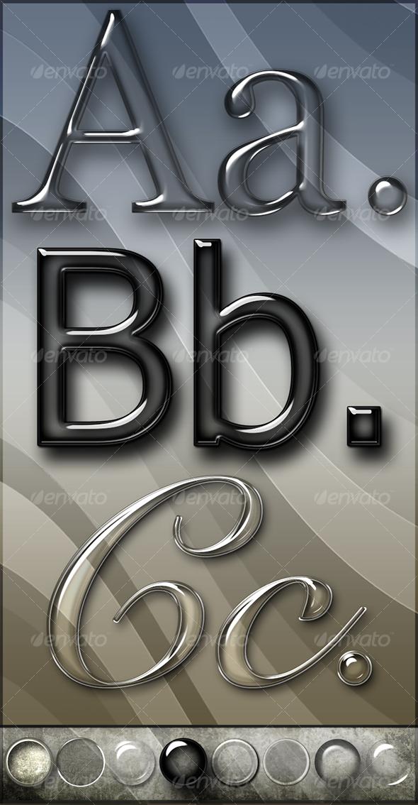 Elegant Glass Text Effects and Styles - Blog Lorelei Web Design