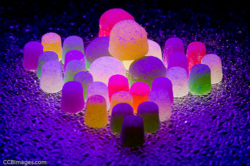 Candy Glow (with Blacklight) by CCBImages.