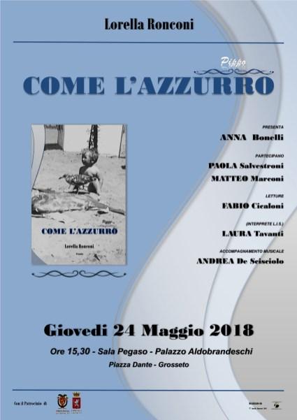 Locandina Pippo - COME L'AZZURRO