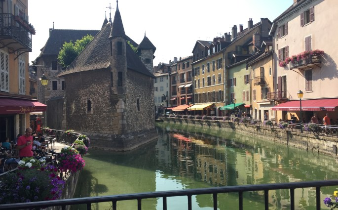 Castel of Annecy in France