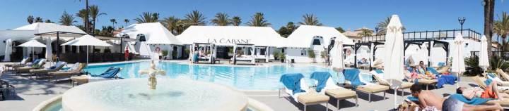 La Cabane Pool Marbella