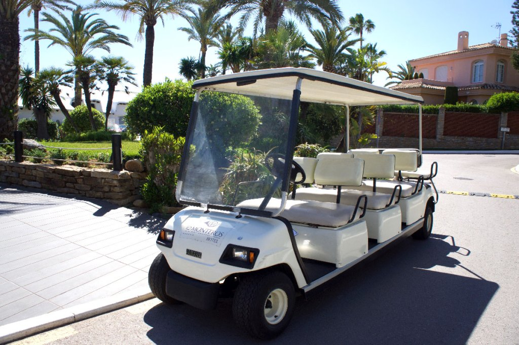 Los Monteros Golf Car