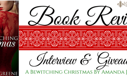 Book Review, Interview, & Giveaway: A Bewitching Christmas by Amanda J. Greene