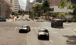 Paul Walker, Vin Diesel. Jack Gill Car Stunt
