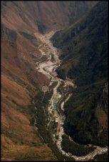 central hidroelectrique sur la rivière Urubamba/ waterplant on urubamba river