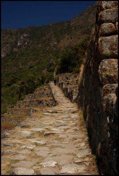 chemin inca vers la porte du soleil (Inti Punku) / inca trail to the sun-gate
