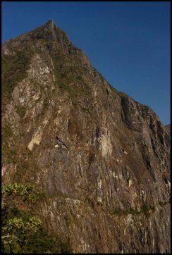montagne Machu Picchu / Machu Picchu mountain.