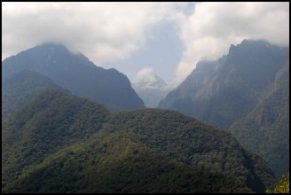 vue sur la forêt des nuages / cloud forest