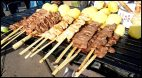 anticuchos-brochettes-meat skewers - Cusco - Peru
