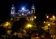 Ayacucho, main plaza - place centrale, Ayacucho, Pérou