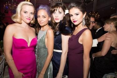 Reese Witherspoon, Nicole Richie, Zooey Deschanel és Selena Gomez