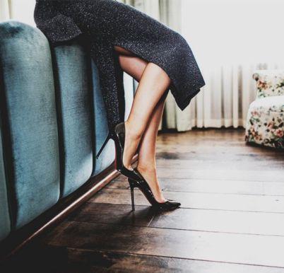 black heels1