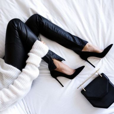 black heels2