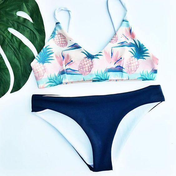 pinapple bikini