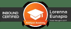 Certificação Inbound Marketing Hubspot