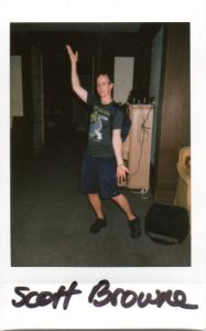 Polaroid taken by Rain Graves at the Mansion, in case Scott vanished.