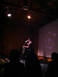Jill Tracy at the Death Salon Cabaret