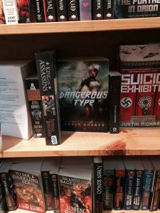 The Dangerous Type was spotted at Powell's Books. Photo courtesy of LisaMary Wichowski.