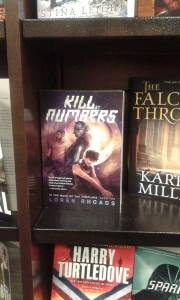 On the shelves at the Barnes & Noble in Flint, Michigan. Photo by Mart Allard.