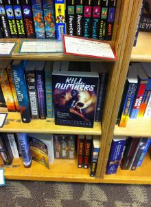 First sighting in the wild: Kill By Numbers at Books Inc. on Van Ness, San Francisco.