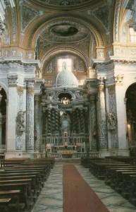 Venice Church postcard