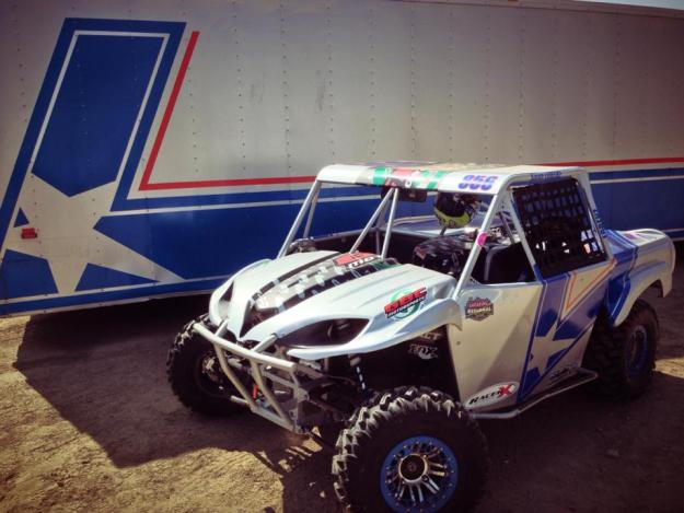 Time to get her dirty. — with Linda Reyes Lorenzen, Suzy Lorenzen and Joseph Salas at Lucas Oil Offroad Races.