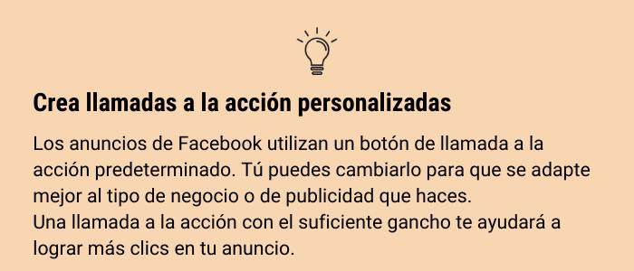 CTA - Guía fácil para crear tus anuncios en Facebook Ads🚀