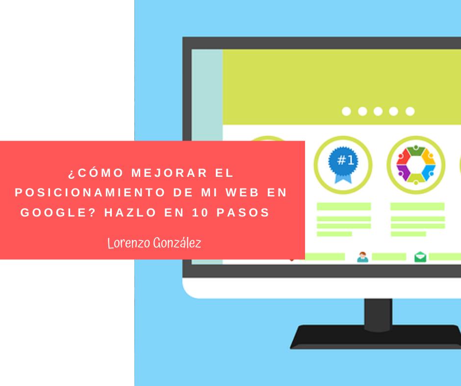 POSICIONAR WEB