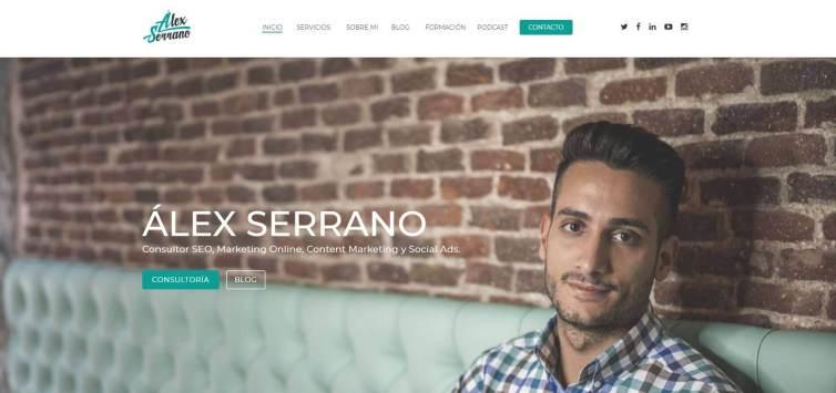 Alex Serrano.JPG 1 - Las webs de los 20 especialistas en posicionamiento SEO más importantes de España 🏆