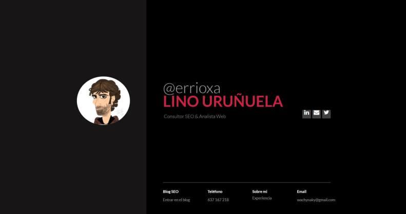 Lino Uruñuela.JPG 1 - Las webs de los 20 especialistas en posicionamiento SEO más importantes de España 🏆
