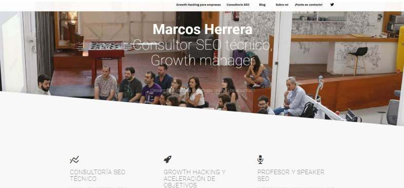 MARCOS NAVARRO.JPG 1 - Las webs de los 20 especialistas en posicionamiento SEO más importantes de España 🏆