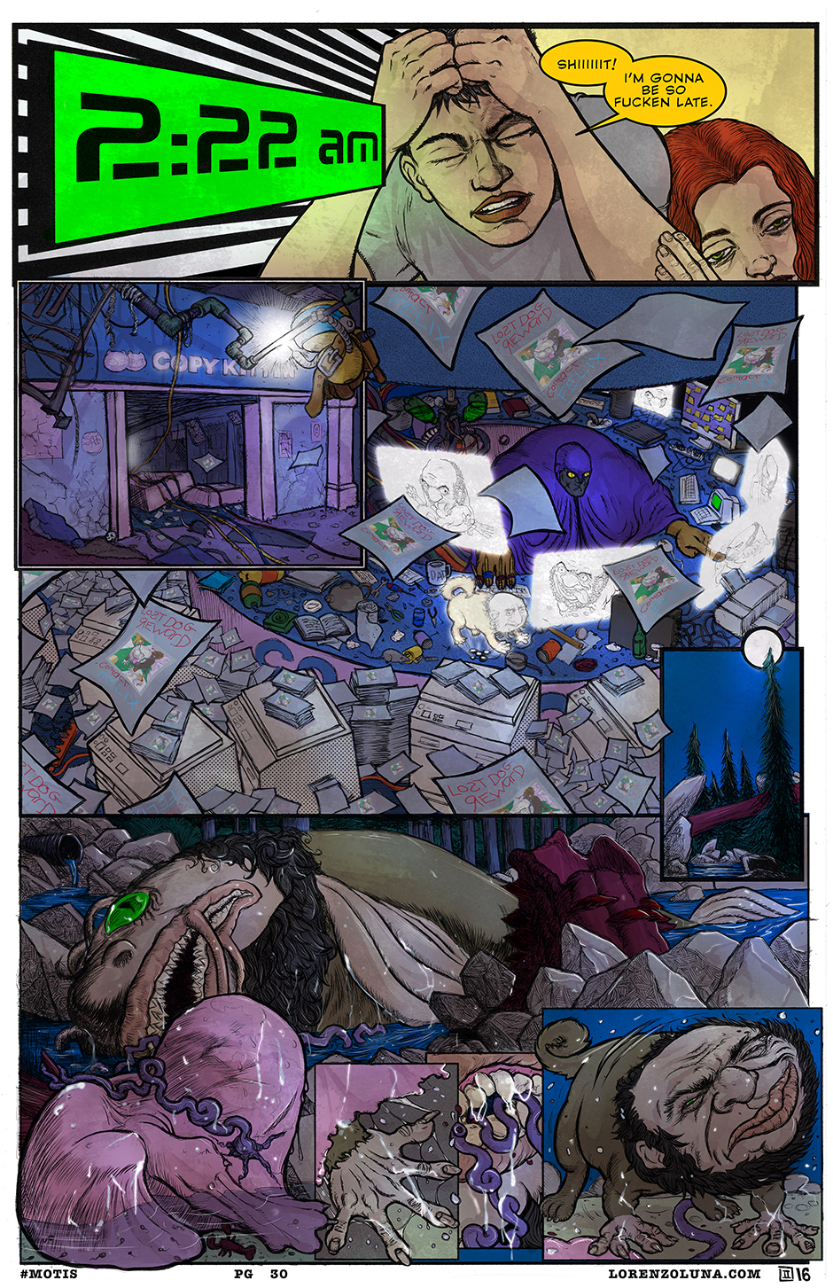 the maze page 30