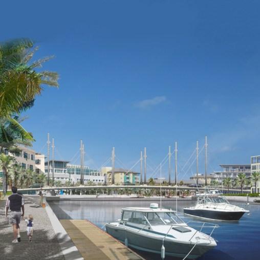 Camana Bay Bridges - Day view