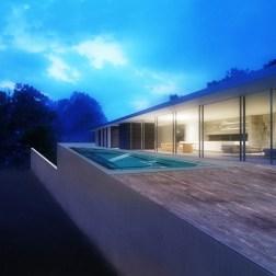 House in Santinho - Night view