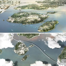 Kruunusillat Bridge - Photo (7) and Plan 705px