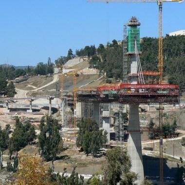 Constantine Bridge - Construction site (2)