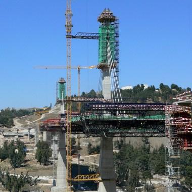 Constantine Bridge - Construction site (4)