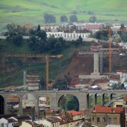 Constantine Bridge - Construction site (6)