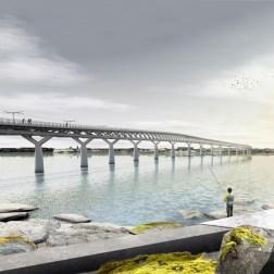 Kruunusillat Bridge - Kruunuvuorenranta view 705px