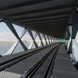 Kruunusillat Bridge - Tram driver's view 705px