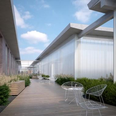 OVS HQ Refurbishment - Green corridor