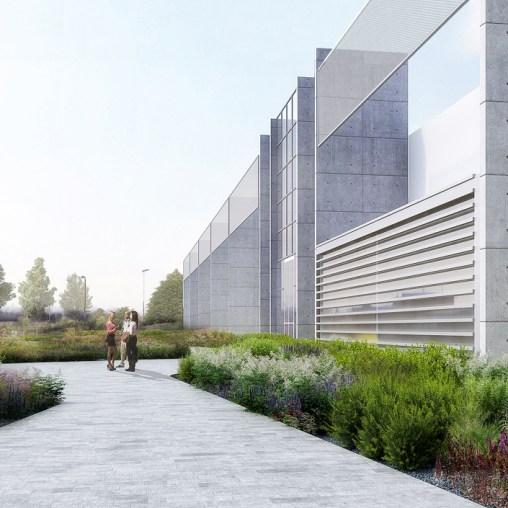 OVS HQ Refurbishment - Entrance